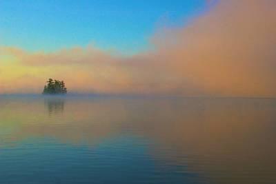 Photograph - Cherry Island In Misty Sunrise by Polly Castor