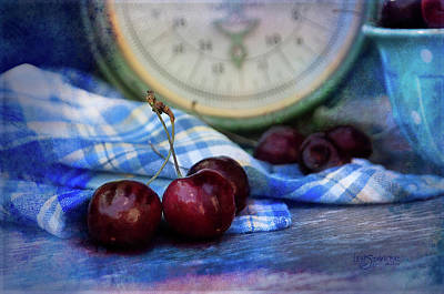 Photograph - Cherry Love by Joy Gerow