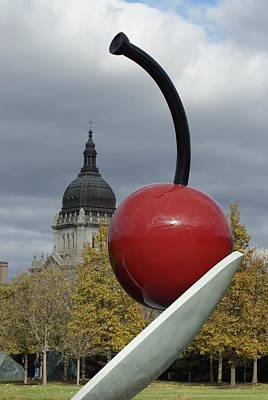 Photograph - Cherry On A Spoon by Ron Read
