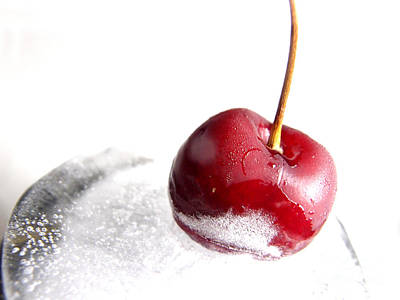 Photograph - Cherry On Ice by Eddie Lee