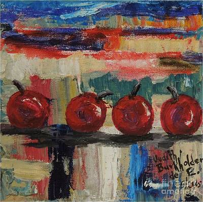 Painting - Cherry Parade - Sold by Judith Espinoza