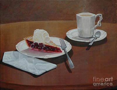Painting - Cherry Pie Alamode by Michael Nowak