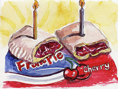 Cherry Pie Indulgence Art Print
