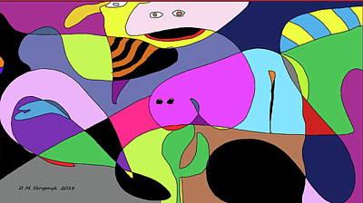 Digital Art - Cherry Point Denizens by David Skrypnyk