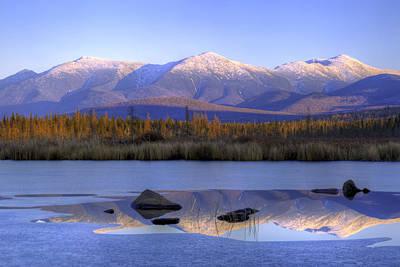 Washingotn Photograph - Cherry Pond Reflections by Chris Whiton