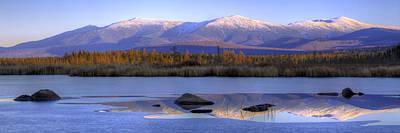 Cherry Pond Reflections Panorama Art Print