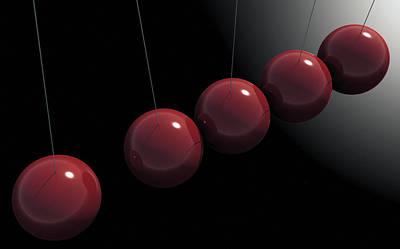 Cherry Red Knockers Art Print by Richard Rizzo