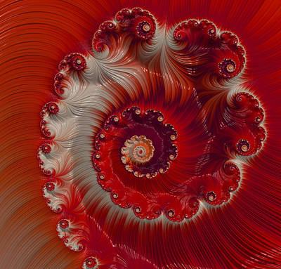 Cherry Swirl Art Print
