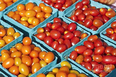 Tomatoe Wall Art - Photograph - Cherry Tomatoes by John Greim