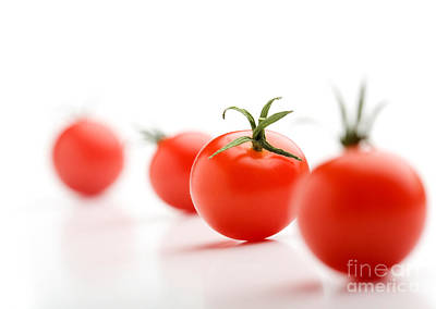 Food And Beverage Photos - Cherry tomatoes by Kati Finell