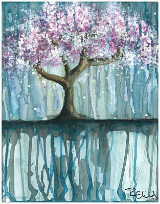 Cherry Blossoms Painting - Fruit Tree #2 by Rebecca Childs