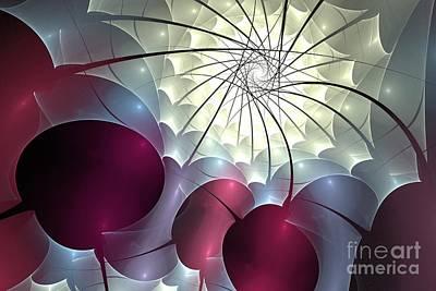 Digital Art - Cherry Winter Blossom by Kim Sy Ok