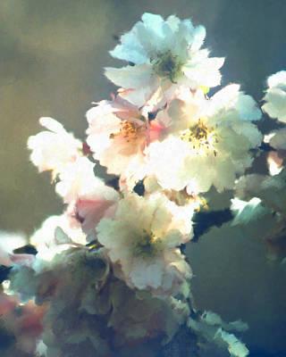 Digital Art - Cherry Zen Vertical by Patrick Turner