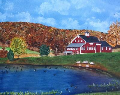 Cherrybrook Farm Art Print by Sharon Farber