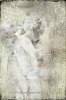 Photograph - Cherub Child Bethesda by Evie Carrier