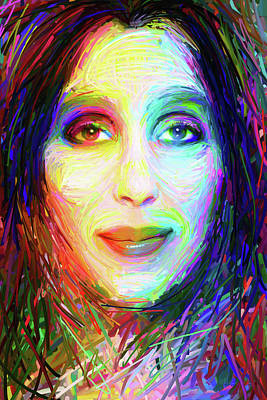 Digital Art - Cheryl Sarkisian by Matt Lindley