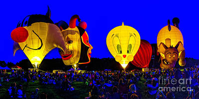 Photograph - Chesapeake Balloon Glow 2018 by Nick Zelinsky