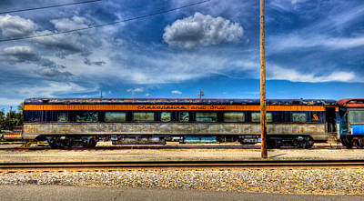 Photograph - Chesapeake And Ohio Train by Jonny D