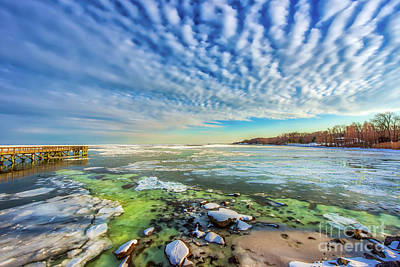 Photograph - Chesapeake Bay Autumn by Patrick Wolf