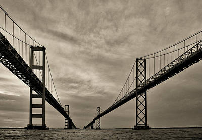 Photograph - Chesapeake Bay Bridge by David Kay