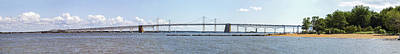 Photograph - Chesapeake Bay Bridge - Wide Pano by Brian Wallace