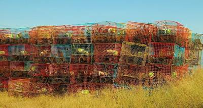 Photograph - Chesapeake Bay Crabbing by Christopher James