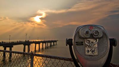 Chesapeake Bay Sunset Art Print by Daniel Lowe
