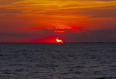 Photograph - Chesapeake Bay Sunset by Pete Federico