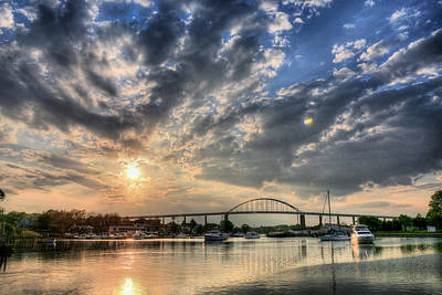 Photograph - Chesapeake City by JC Findley