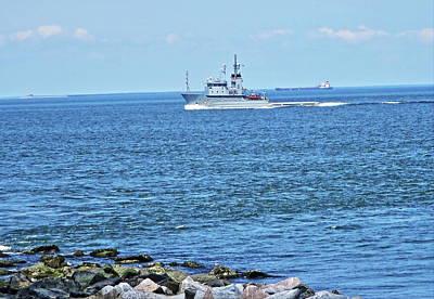 Travel - Chesapeake Naval Patrol by Rene Barger