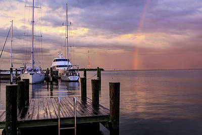 Photograph - Chesapeake Rainbow by Jennifer Casey