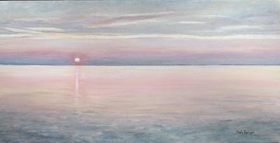 Painting - Chesapeake Sunset by Paula Pagliughi