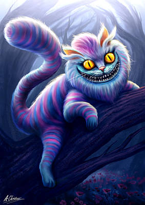 Painting - Cheshire Cat by Anthony Christou