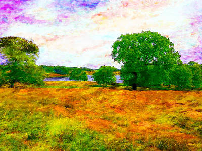 Digital Art - Cheshire Pastoral by Glenn McCarthy Art and Photography