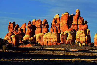 Photograph - Chesler Park Sandstone Towers by Greg Norrell
