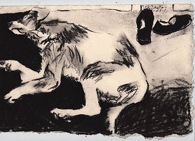 Brad Wilson Drawing - Chesmer by Brad Wilson