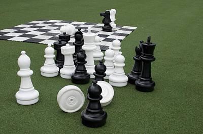 Photograph - Chess 101 by Caroline Stella