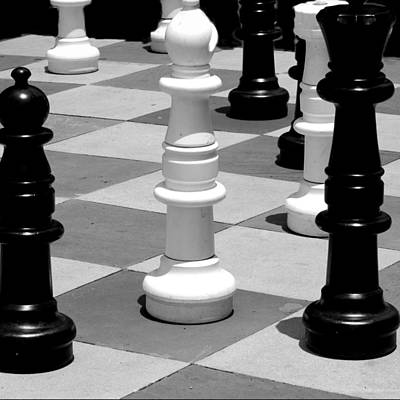 Photograph - Chess 2 by David Weeks