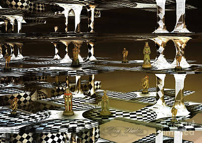 Digital Art - Chess Anyone by Melissa Messick