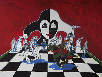 Chess Anyone? Art Print by Ron Moses