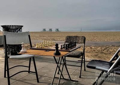 Photograph - Chess At Venice Beach by David Bearden