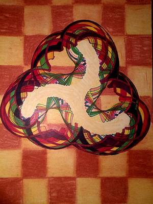 Mixed Media - Chess Board Anomaly by Steve Sommers
