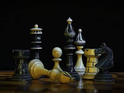 Chess Original by Dagmar Luhringova