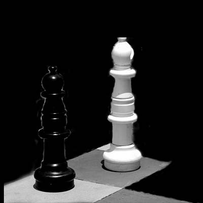 Photograph - Chess by David Weeks