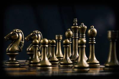 Board Game Photograph - Chess by Hyuntae Kim