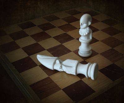 Photograph - Chess Move by David and Carol Kelly