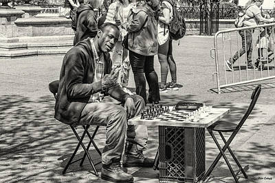 Photograph - Chess Player by Fran Gallogly