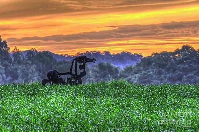 Photograph - Waist High Corn The Iron Horse Collection Art by Reid Callaway