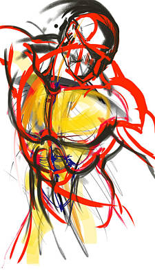 Painting - Chest Neck Study 1 by John Jr Gholson