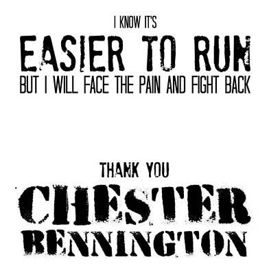 Digital Art - Chester Bennington Lite by Cat Corelli